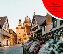 Eines der sehenswürdigsten Orte in Deutschland