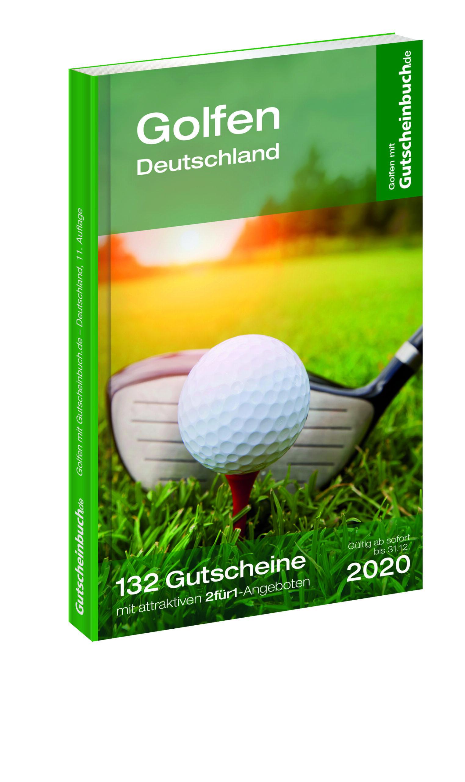 Golfen mit Gutscheinbuch.de